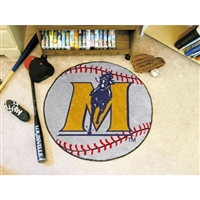Murray State Racers NCAA Baseball Round Floor Mat (29)