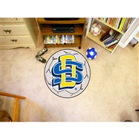 South Dakota State Jackrabbits NCAA Soccer Ball Round Floor Mat (29)
