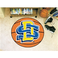 South Dakota State Jackrabbits NCAA Basketball Round Floor Mat (29)