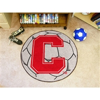Cornell Big Red NCAA Soccer Ball Round Floor Mat (29)