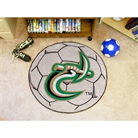 North Carolina Charlotte 49ers NCAA Soccer Ball Round Floor Mat (29)