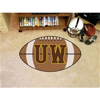Wyoming Cowboys NCAA Football Floor Mat (22x35)