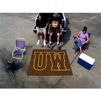 Wyoming Cowboys NCAA Tailgater Floor Mat (5'x6')