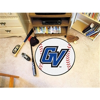 Grand Valley State Lakers NCAA Baseball Round Floor Mat (29)