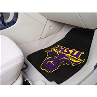 Minnesota State Mankato Mavericks NCAA 2-Piece Printed Carpet Car Mats (18x27)