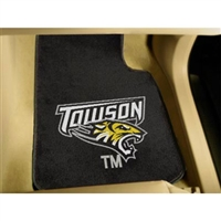 Towson Tigers NCAA Car Floor Mats (2 Front)