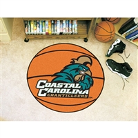Coastal Carolina Chanticleers NCAA Basketball Round Floor Mat (29)