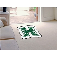 Hawaii Rainbow Warriors NCAA Mascot Mat (30x40)