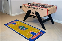 "Florida Gators Basketball Court Runner Mat 29.5"" x 72"""
