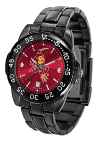 Arizona State Sun Devils Fantom Sport Watch, Anochrome Dial, Black