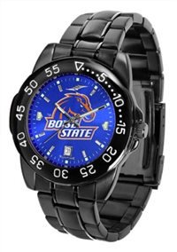 Boise State Broncos Fantom Sport Watch, Anochrome Dial, Black