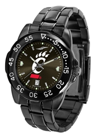 Cincinnati Bearcats Fantom Sport Watch, Anochrome Dial, Black