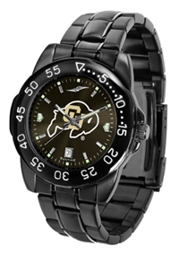 Colorado Buffaloes Fantom Sport Watch, Anochrome Dial, Black