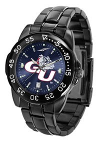 Gonzaga Bulldogs Fantom Sport Watch, Anochrome Dial, Black