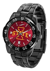 Iowa State Cyclones Fantom Sport Watch, Anochrome Dial, Black