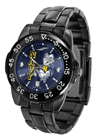 Naval Academy Midshipmen Fantom Sport Watch, Anochrome Dial, Black
