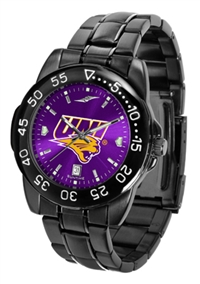 Northern Iowa Panthers Fantom Sport Watch, Anochrome Dial, Black