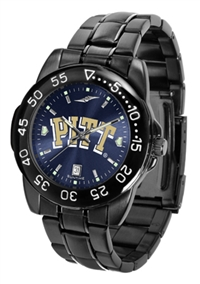 Pittsburgh Panthers Fantom Sport Watch, Anochrome Dial, Black