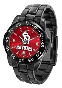 South Dakota Coyotes Fantom Sport Watch, Anochrome Dial, Black