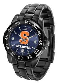 Syracuse Orange Fantom Sport Watch, Anochrome Dial, Black