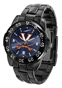 Virginia Cavaliers Fantom Sport Watch, Anochrome Dial, Black