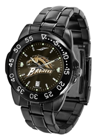 Western Michigan Broncos Fantom Sport Watch, Anochrome Dial, Black