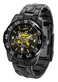 Wichita State Shockers Fantom Sport Watch, Anochrome Dial, Black
