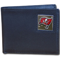Tampa Bay Buccaneers NFL Bifold Wallet in a Tin