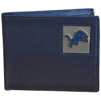 Detroit Lions NFL Bifold Wallet in a Tin