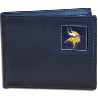 Minnesota Vikings NFL Bifold Wallet in a Tin