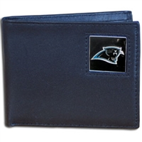 Carolina Panthers NFL Bifold Wallet in a Tin