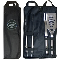New York Jets BBQ Set w/Bag