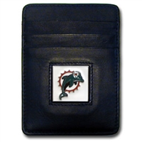 Miami Dolphins Executive NFL Money Clip/Card Holder