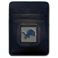 Detroit Lions Executive NFL Money Clip/Card Holder