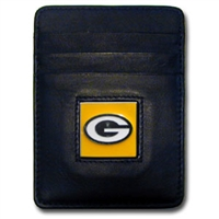Green Bay Packers Executive NFL Money Clip/Card Holder