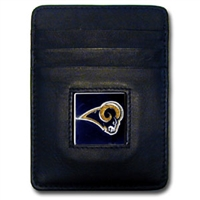 St. Louis Rams Executive NFL Money Clip/Card Holder