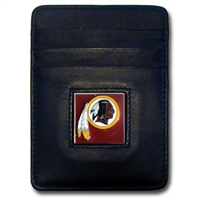Washington Redskins Executive NFL Money Clip/Card Holder