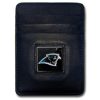 Carolina Panthers Executive NFL Money Clip/Card Holder
