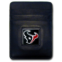 Houston Texans Executive NFL Money Clip/Card Holder