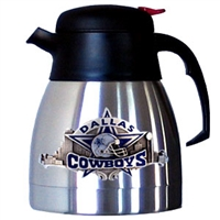 Dallas Cowboys Stainless Steel NFL Coffee Carafe