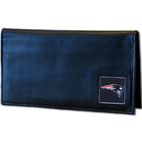 New England Patriots Deluxe NFL Checkbook in a Tin