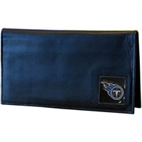 Tennessee Titans Deluxe NFL Checkbook in a Tin