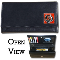 Cincinnati Bengals Women's NFL Leather Wallet