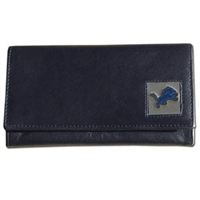 Detroit Lions Women's NFL Leather Wallet