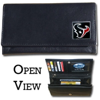 Houston Texans Women's NFL Leather Wallet