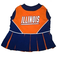 Illinois Fighting Illini Cheer Leading XS