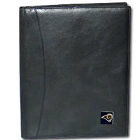 St. Louis Rams Leather Portfolio
