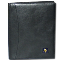 Minnesota Vikings Leather Portfolio