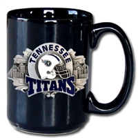 Tennessee Titans NFL Coffee Mug 12 oz. Black