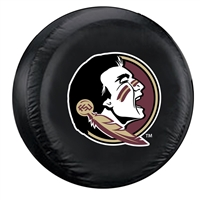 Florida State Seminoles NCAA Spare Tire Cover (Standard) (Black)